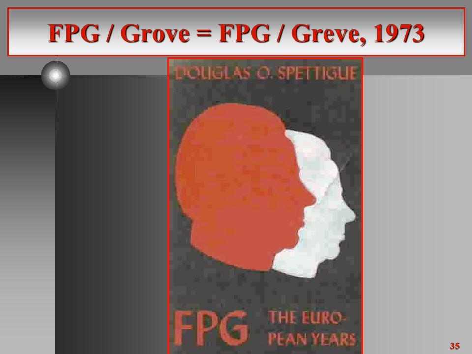 35 FPG / Grove = FPG / Greve, 1973