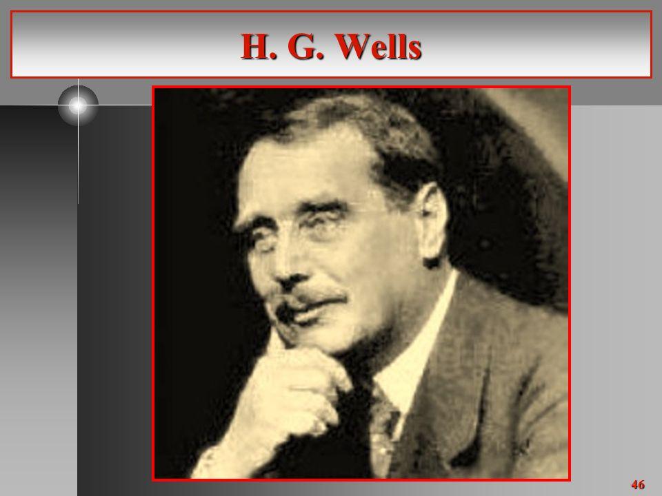 46 H. G. Wells