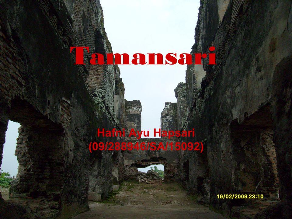 Tamansari Hafni Ayu Hapsari (09/288946/SA/15092)