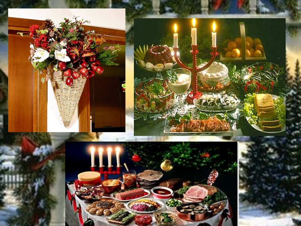 Pour la décoration pour du Noël on doit avor: 1.un sapin bien ordinaire vert; 2.