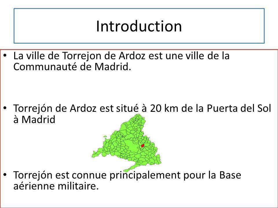 La ville de Torrejon de Ardoz est une ville de la Communauté de Madrid.