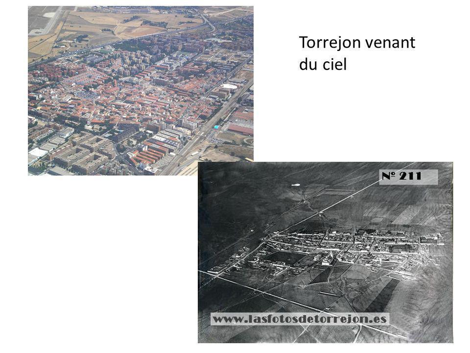 Torrejon venant du ciel