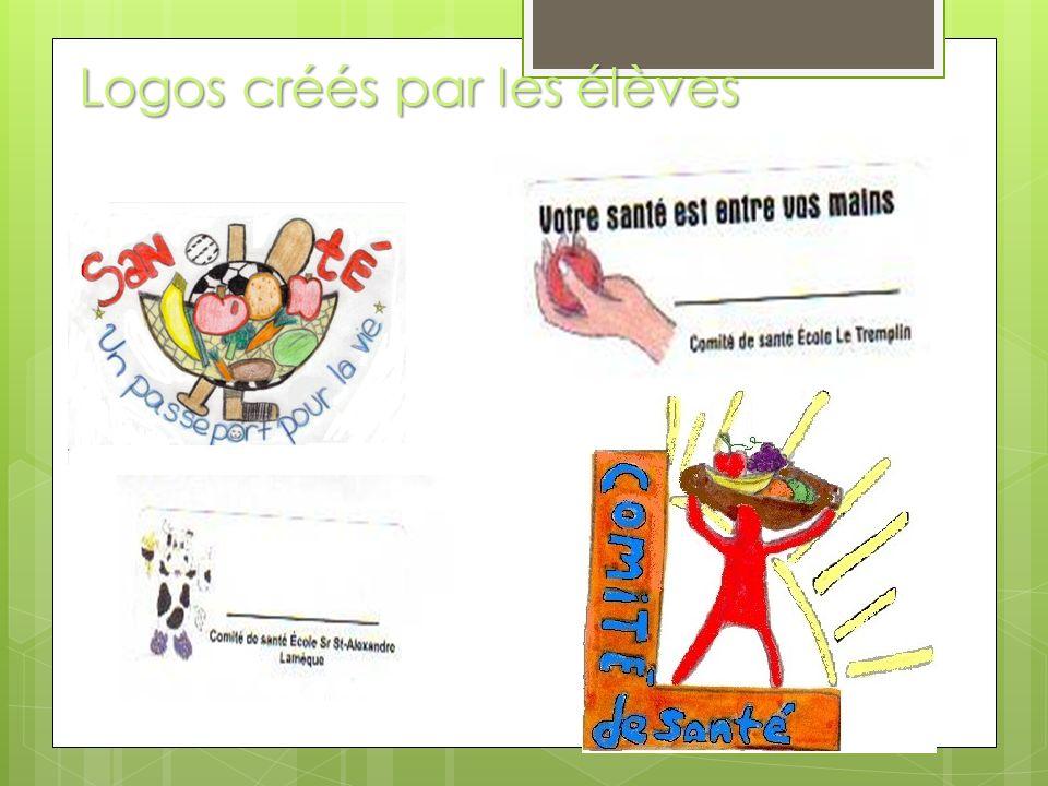 Logos créés par les élèves