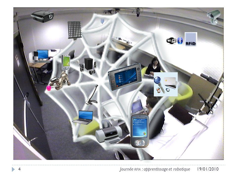 419/01/2010Journée RFIA : apprentissage et robotique