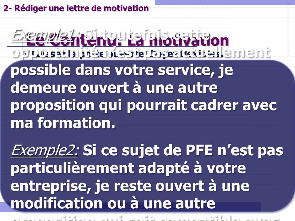 Le Contenu: La motivation Université de La Mannouba – ISCAE 2012-13 Laissez la porte ouverte! Soyez flexibles… Laissez la porte ouverte! Soyez flexibl
