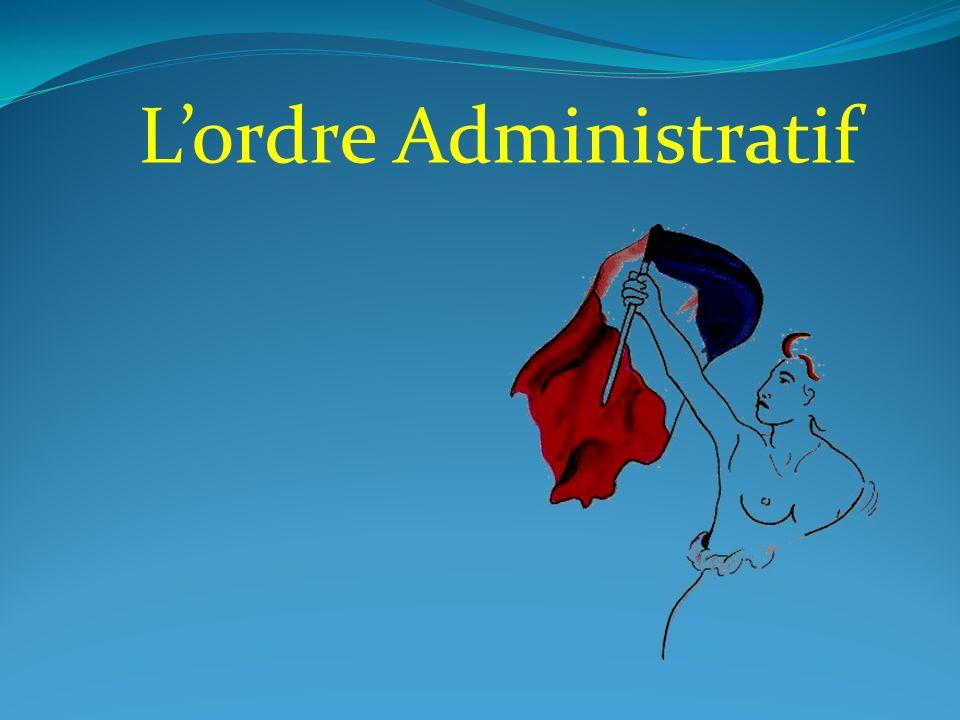 Lordre Administratif