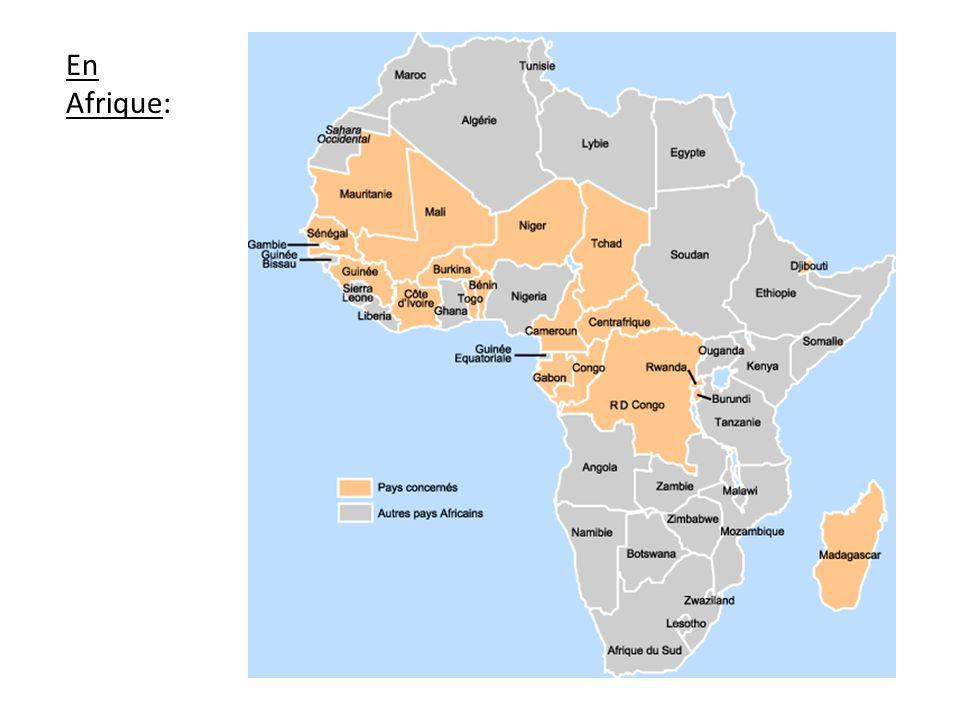 En Afrique:
