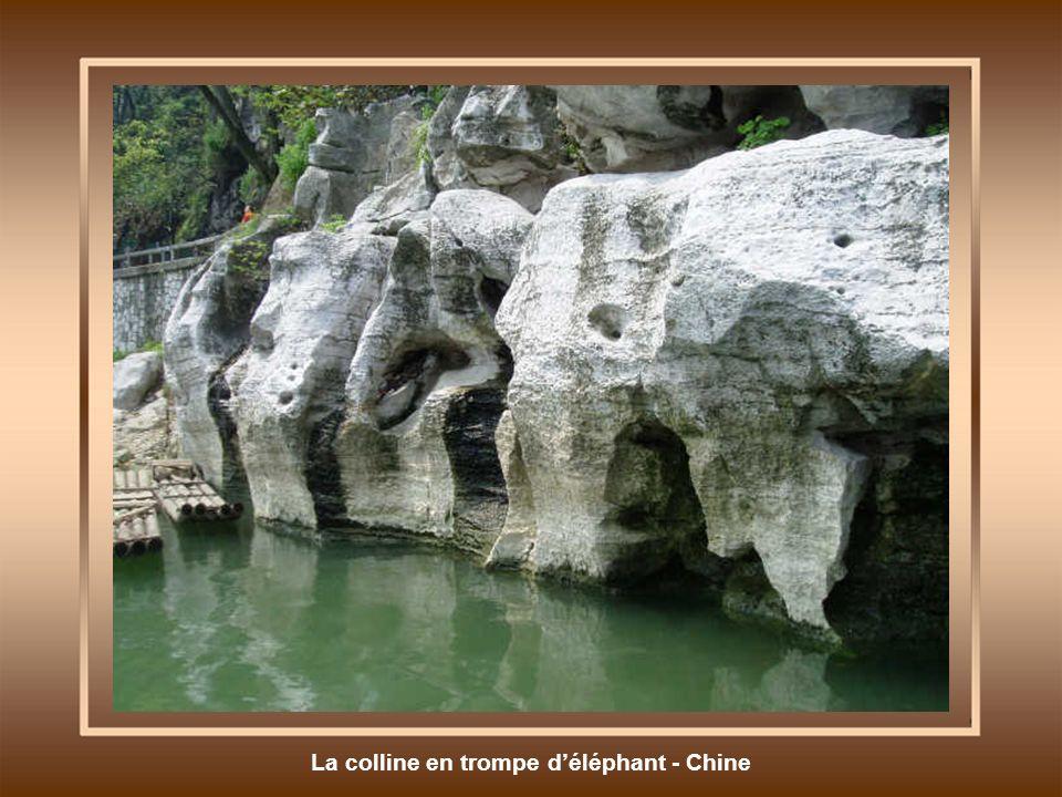 La colline en trompe déléphant - Chine