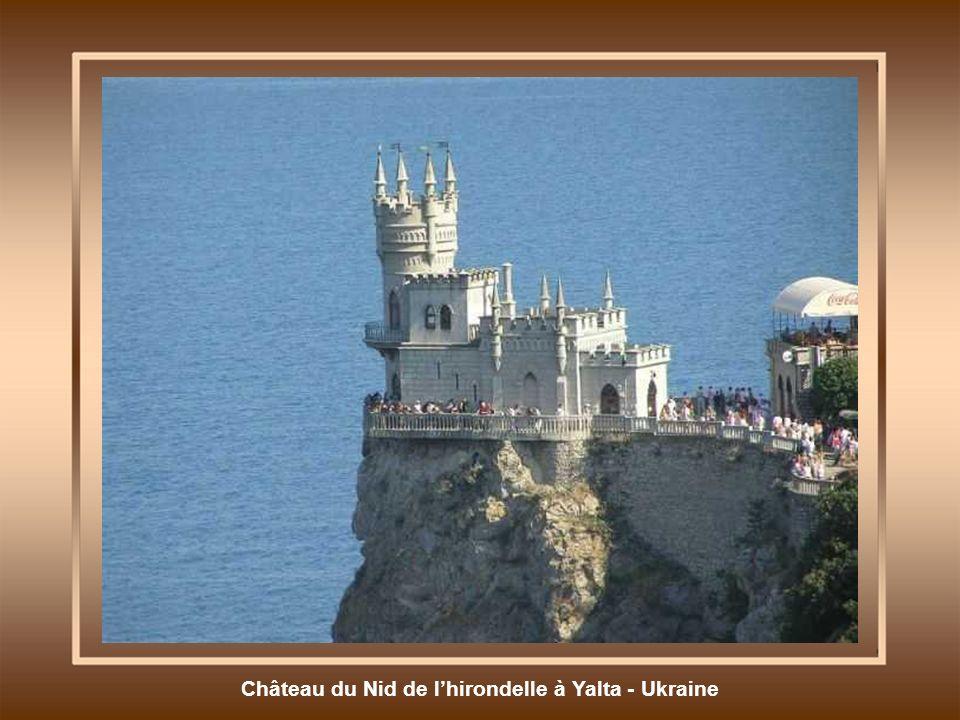 Château du Nid de lhirondelle à Yalta - Ukraine