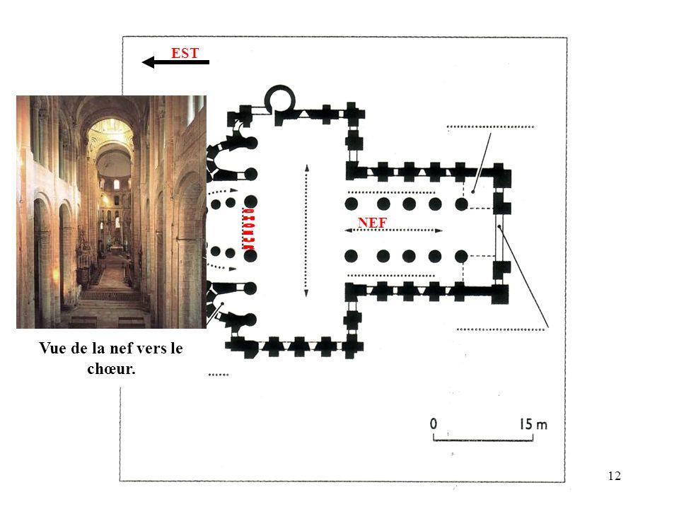 NEF EST Vue de la nef vers le chœur. 12