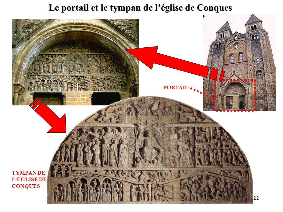 Le portail et le tympan de léglise de Conques PORTAIL TYMPAN DE LEGLISE DE CONQUES 22
