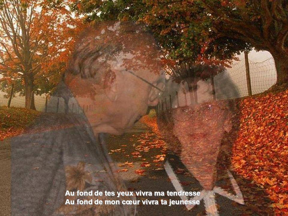 Quelle importance le temps qu'il nous reste Nous aurons la chance de vieillir ensemble