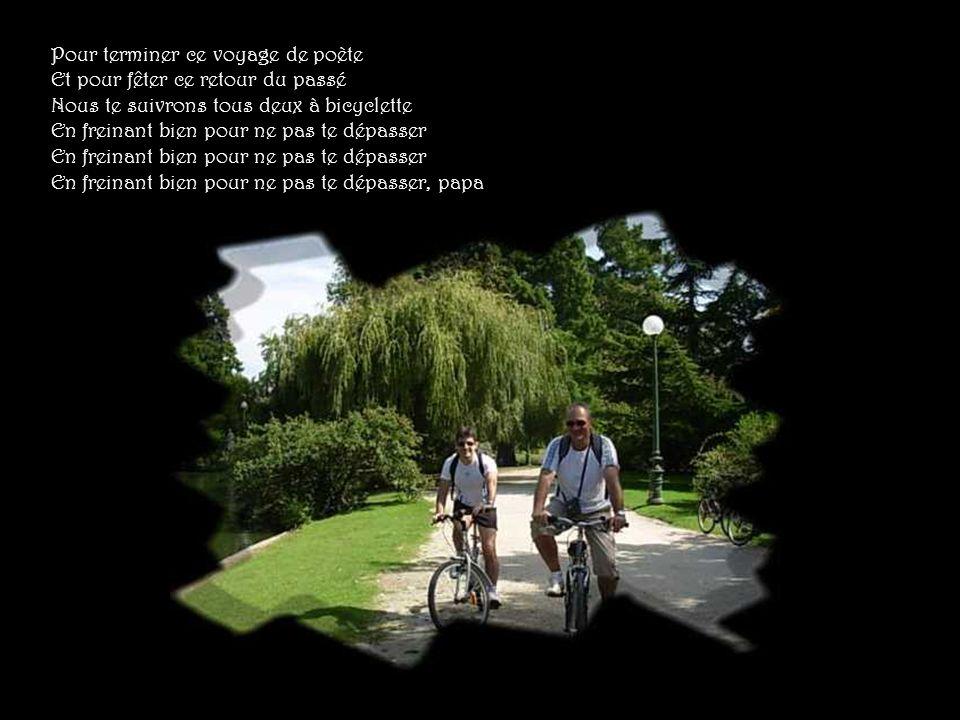 Demain, demain sur la route de Narbonne Toute la nuit le moteur vrombira Et nous verrons les tours de Carcassonne Se profiler à l horizon de Barbeira