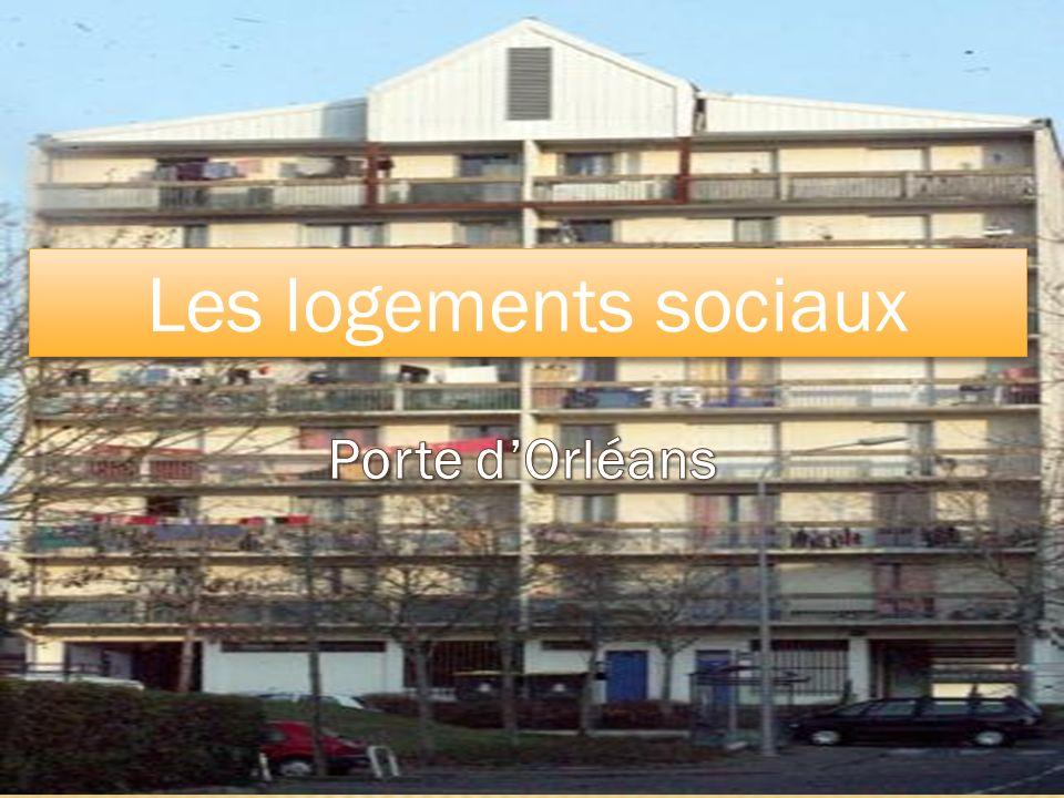 Porte dOrléans Les logements sociaux
