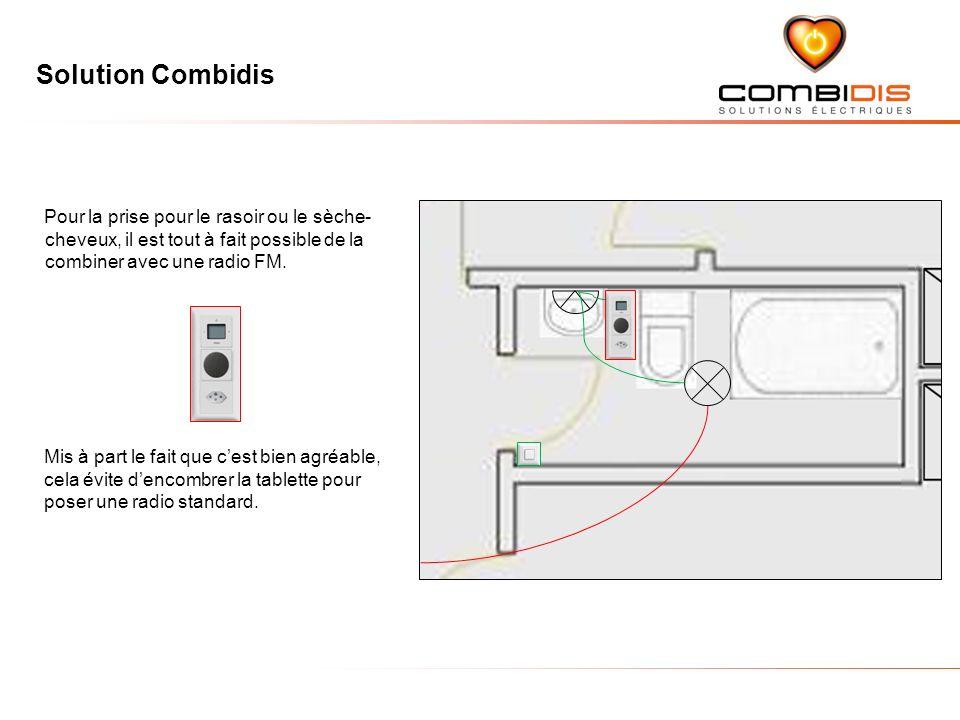 Solution Combidis Mis à part le fait que cest bien agréable, cela évite dencombrer la tablette pour poser une radio standard.