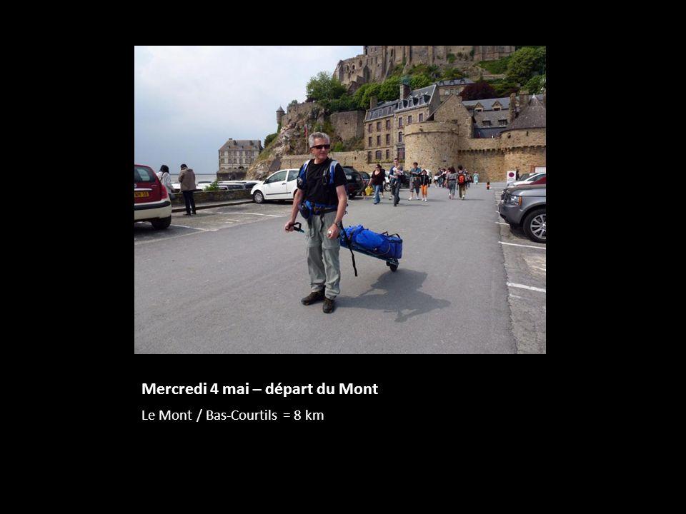 Mercredi 4 mai – départ du Mont Le Mont / Bas-Courtils = 8 km