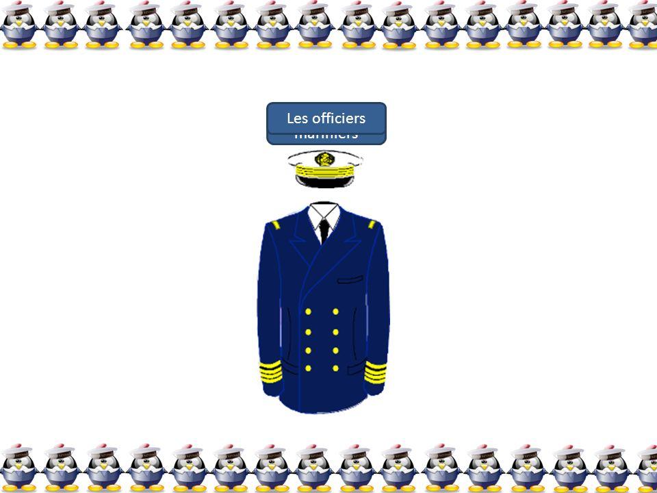 Les officiers mariniers Les officiers