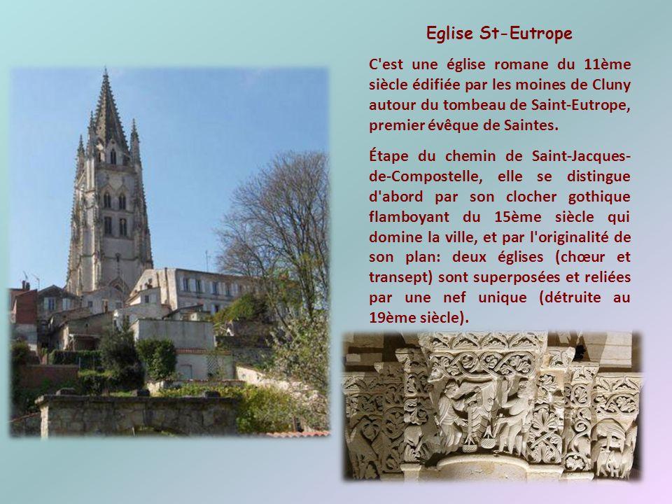 Thermes de St-Saloine Ils datent de la seconde moitié du 1er siècle. Ce sont les vestiges d'un des nombreux établissements thermaux que possédait Sain
