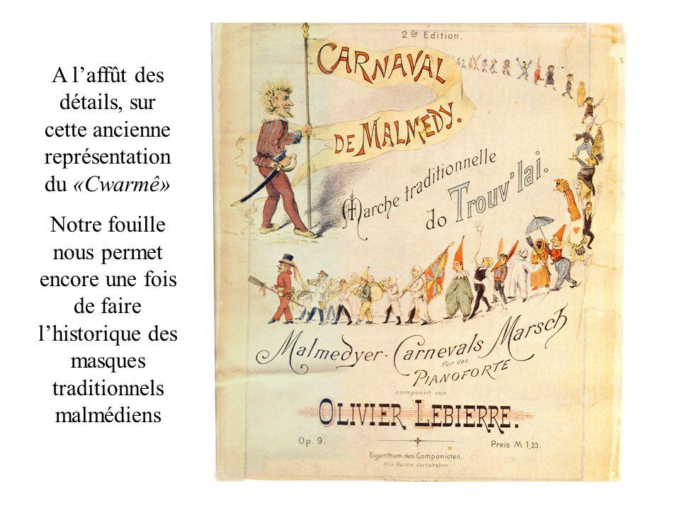 1857 Les «Xhaguettes» sont renseignées avec leurs «ramons» (balais), pas le hape-tchâr, dans lhebdomadaire local en 1857.