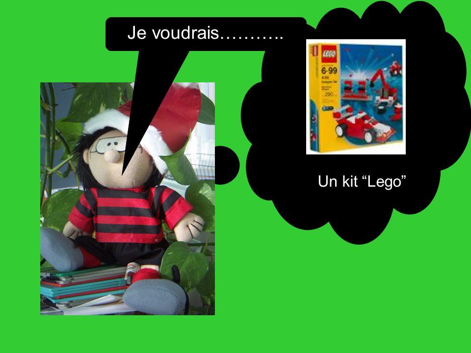 Je voudrais……….. Un kit Lego