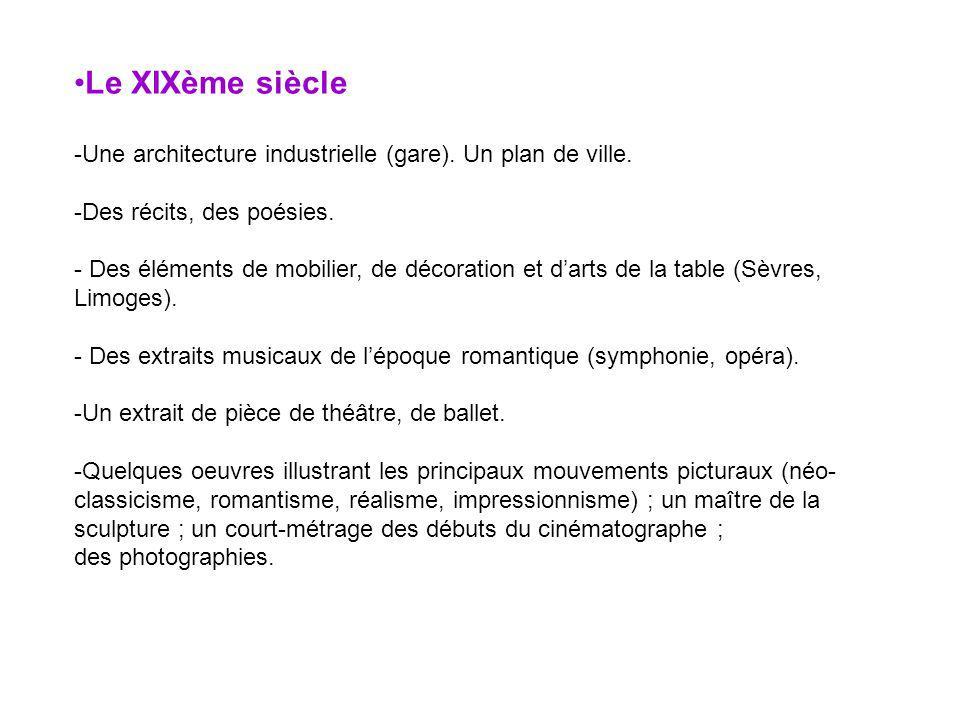 Le XXème siècle et notre époque.-Une architecture : ouvrages dart (pont) et habitat (gratte-ciel).