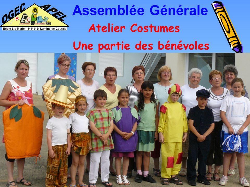 Atelier Costumes Assemblée Générale