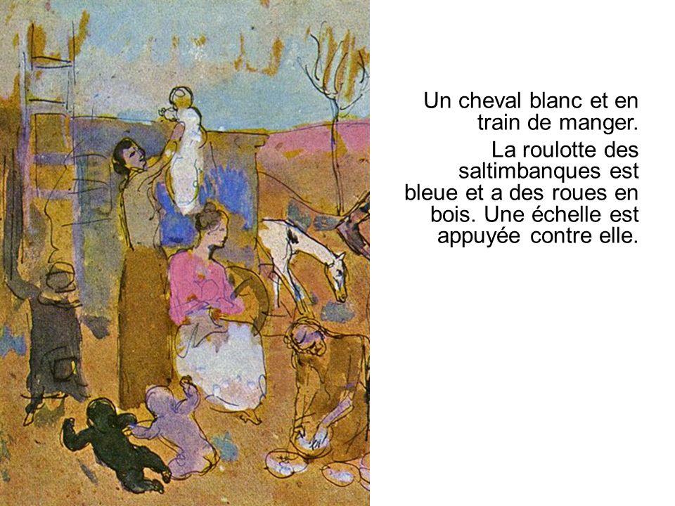 Les saltimbanques sont les personnages principaux de la poésie.