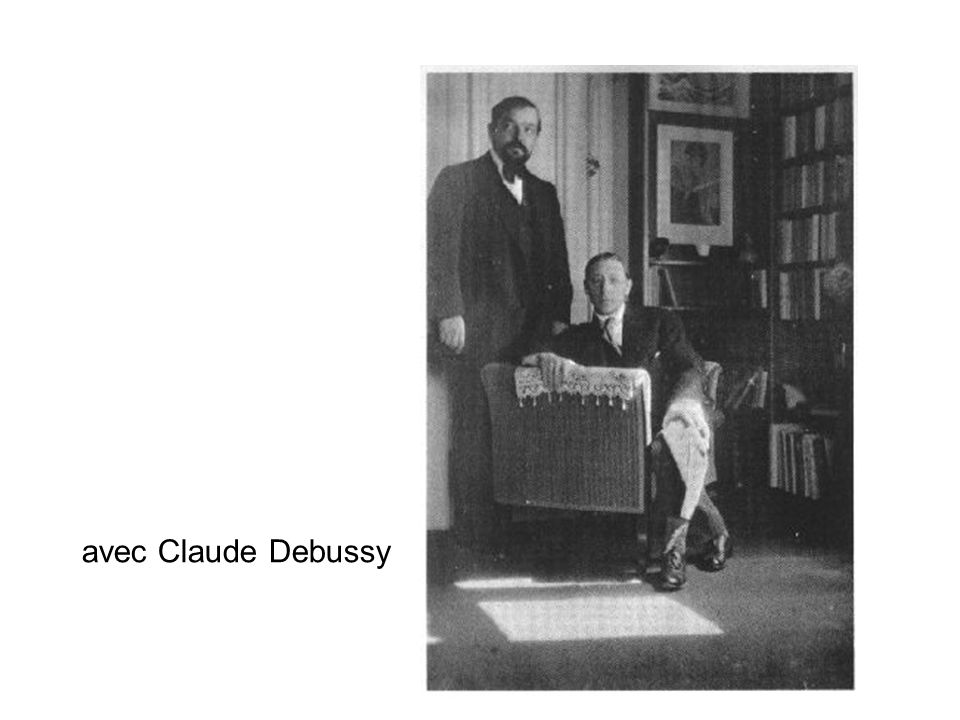 avec Claude Debussy