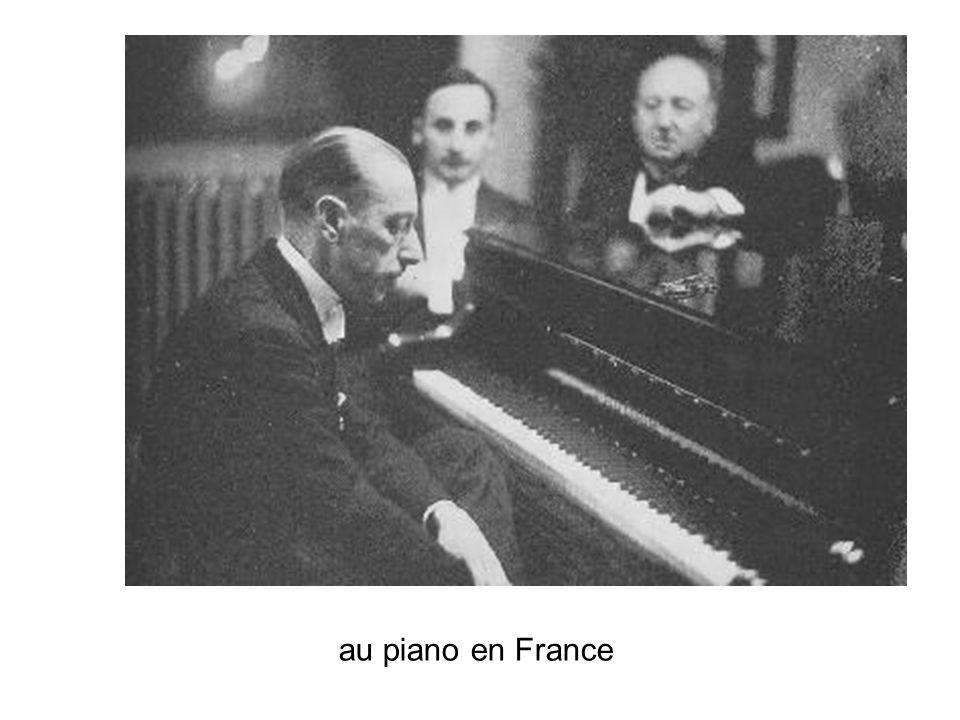 Une esquisse par Stravinsky tiré du livre Conversations de Robert Craft