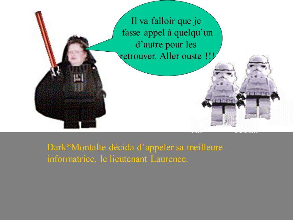 Dark*Montalte dispute ces SadeTroopers une fois de plus. Ils ont réussi à séchapper. Bande dincapables