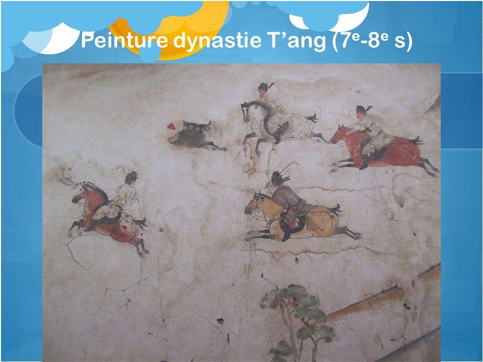 Peinture dynastie Tang (7 e -8 e s)