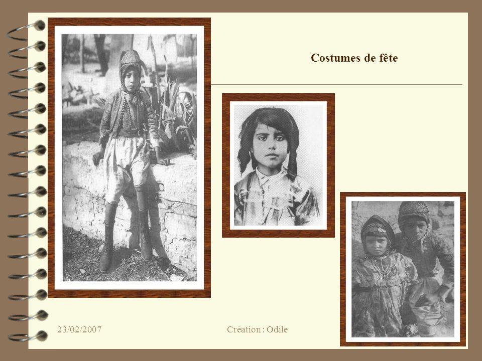 43 Costumes de fête Création : Odile23/02/2007