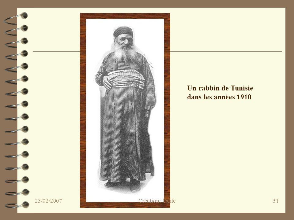 51 Un rabbin de Tunisie dans les années 1910 Création : Odile23/02/2007