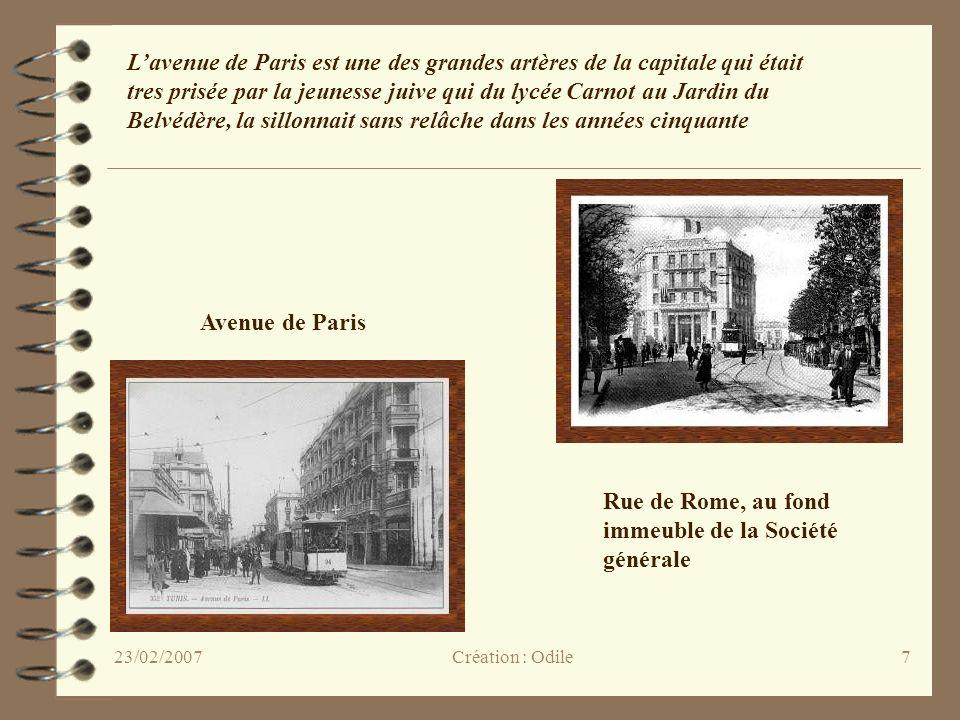 7 Avenue de Paris Rue de Rome, au fond immeuble de la Société générale Lavenue de Paris est une des grandes artères de la capitale qui était tres pris
