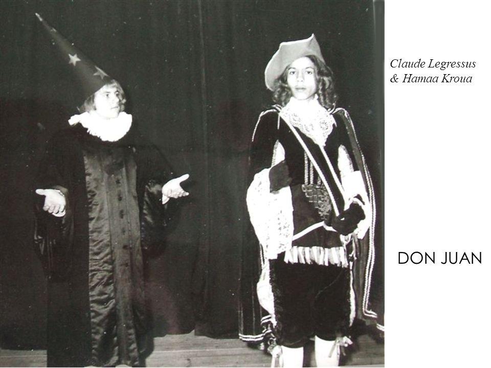 Claude Legressus & Hamaa Kroua DON JUAN