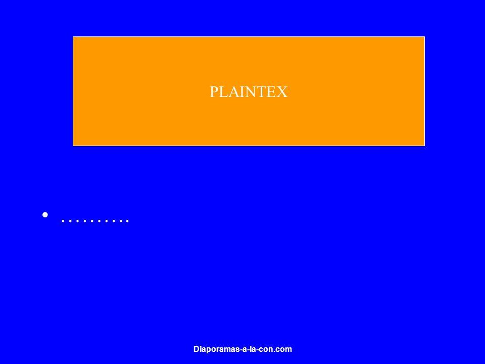 Diaporamas-a-la-con.com ………. PLAINTEX