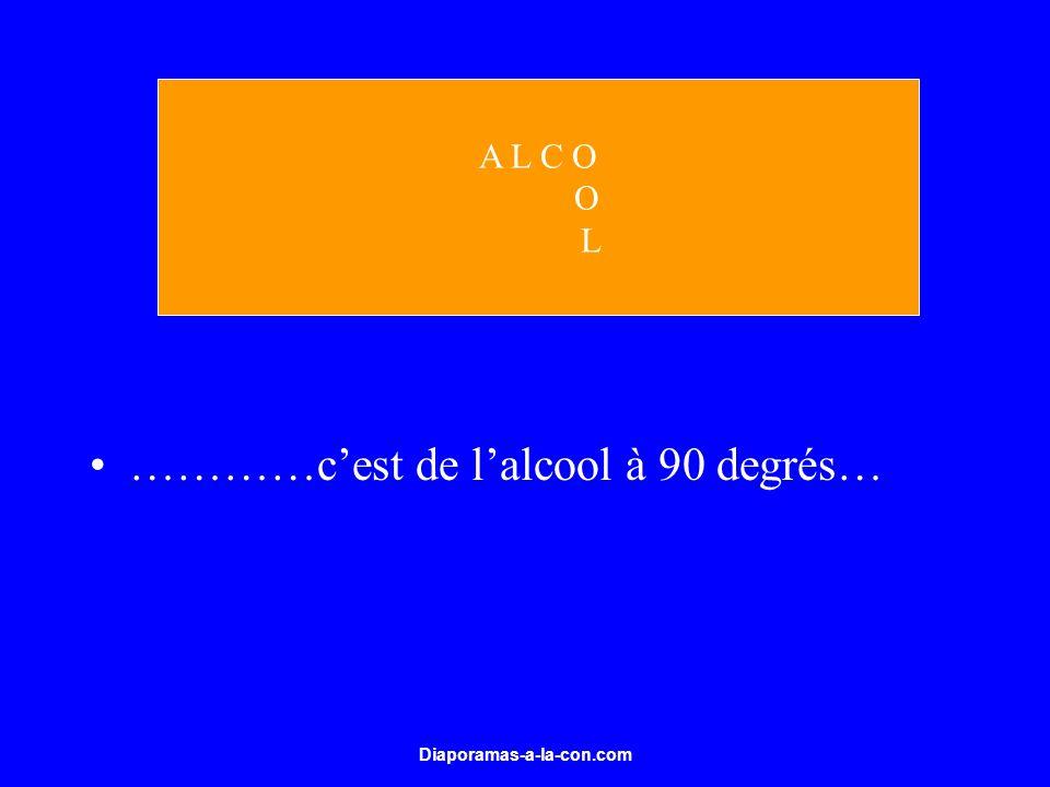 Diaporamas-a-la-con.com …………cest de lalcool à 90 degrés… A L C O O L
