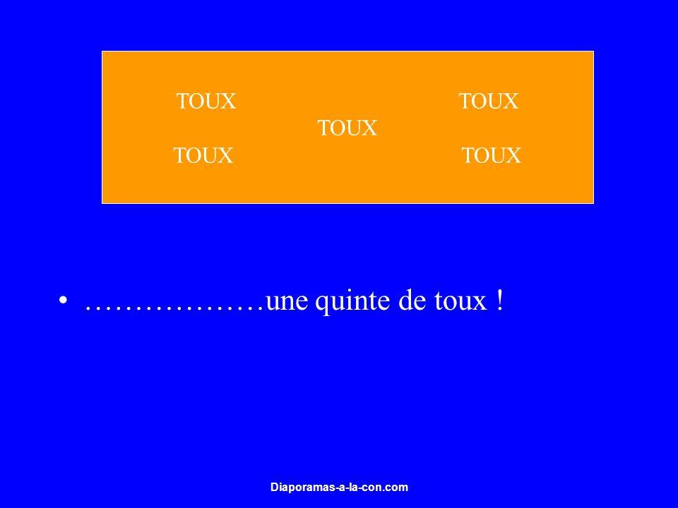 Diaporamas-a-la-con.com ………………une quinte de toux ! TOUX