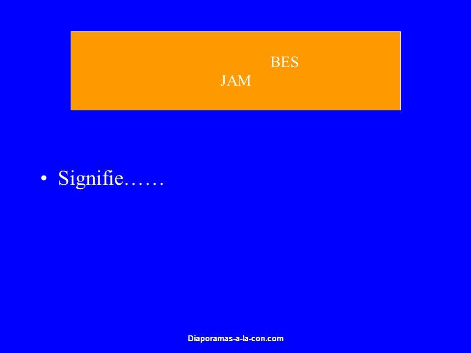 Diaporamas-a-la-con.com Signifie…… BES JAM