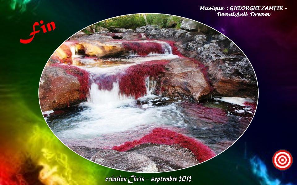 La rivière est aussi appelée la plus belle rivière du monde