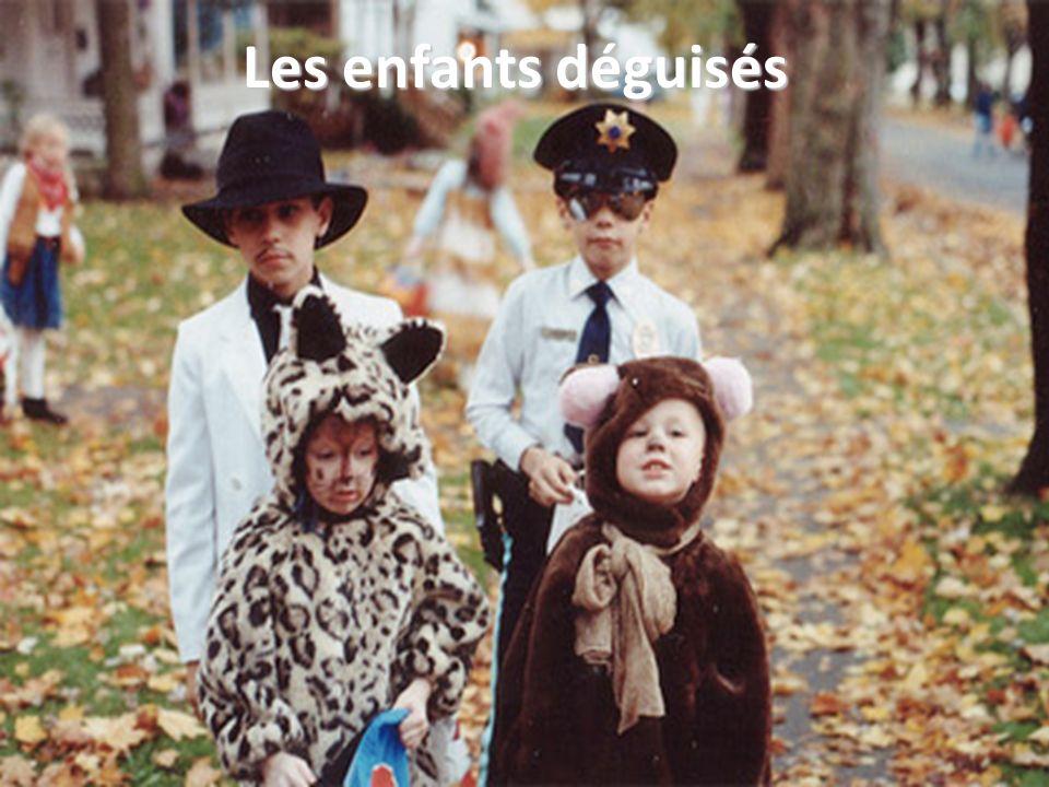 Les enfants déguisés