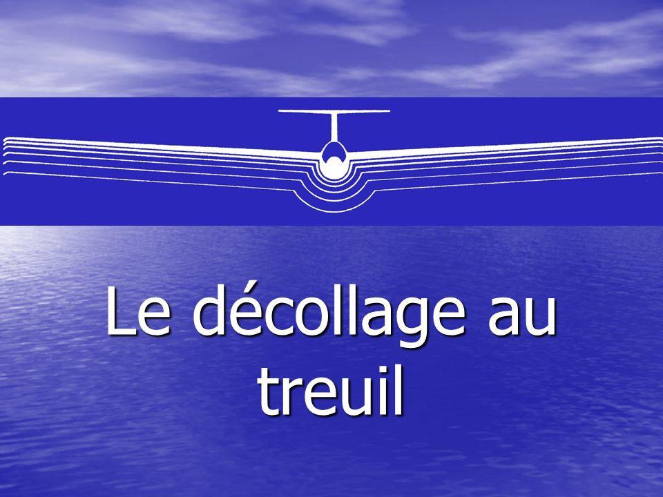 Le treuillage implique : la constitution dune équipe soumise à une discipline rigoureuse (planeur, treuil, voiture, piste ).