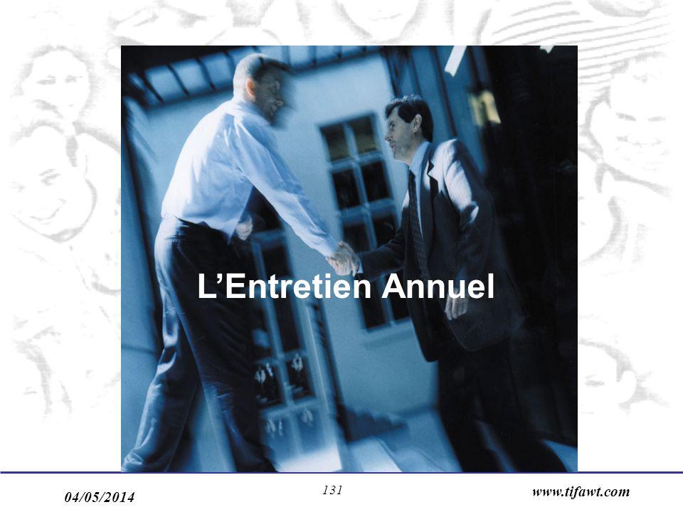 04/05/2014 www.tifawt.com 131 LEntretien Annuel