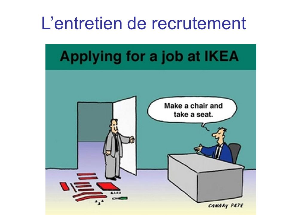 Lentretien de recrutement