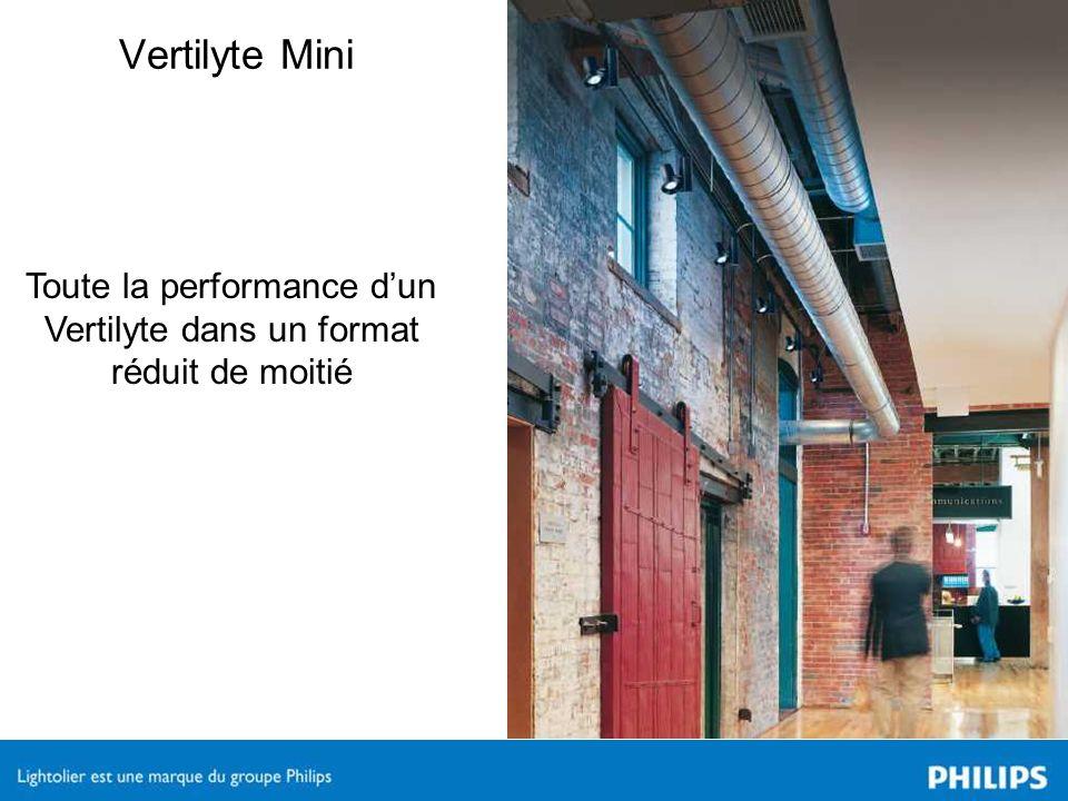 Vertilyte Mini Toute la performance dun Vertilyte dans un format réduit de moitié