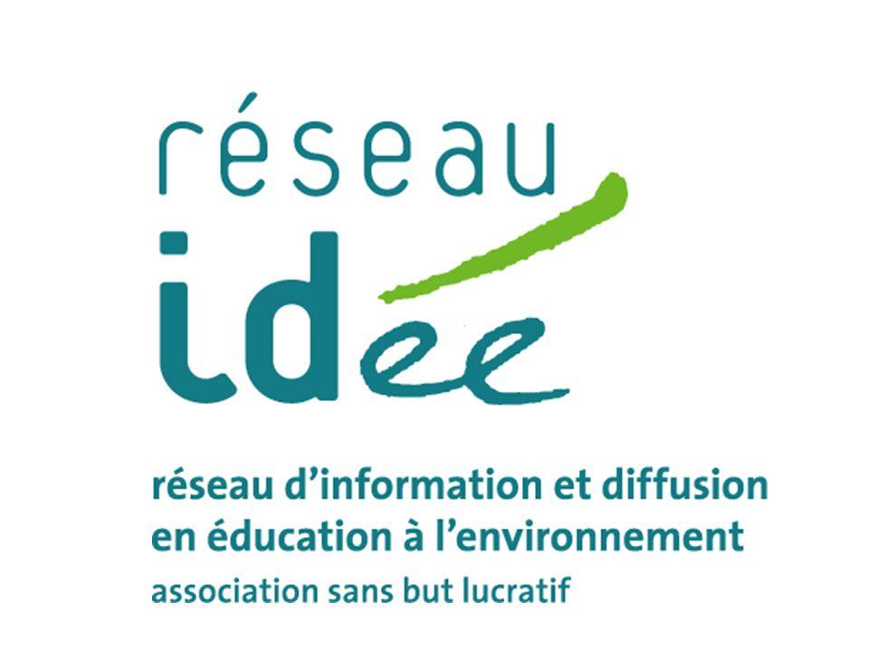 Rapport 2010 Programme 2011 www.reseau-idee.be 5.