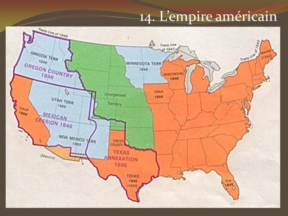 14. Lempire américain