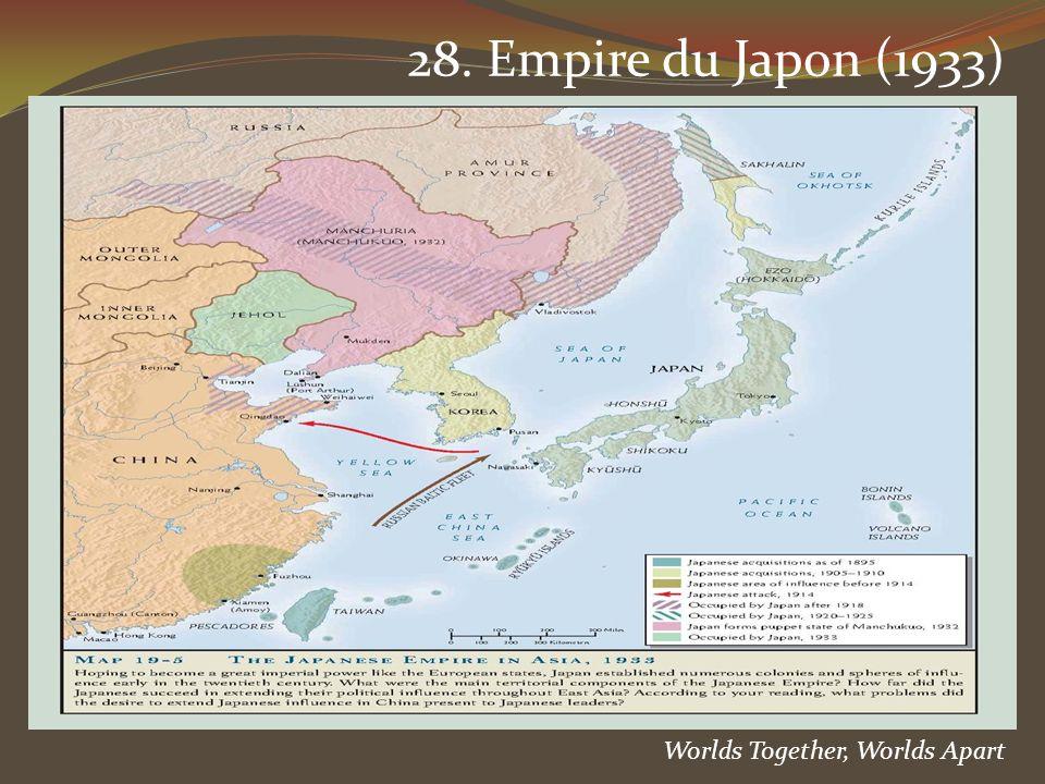 Worlds Together, Worlds Apart 28. Empire du Japon (1933)