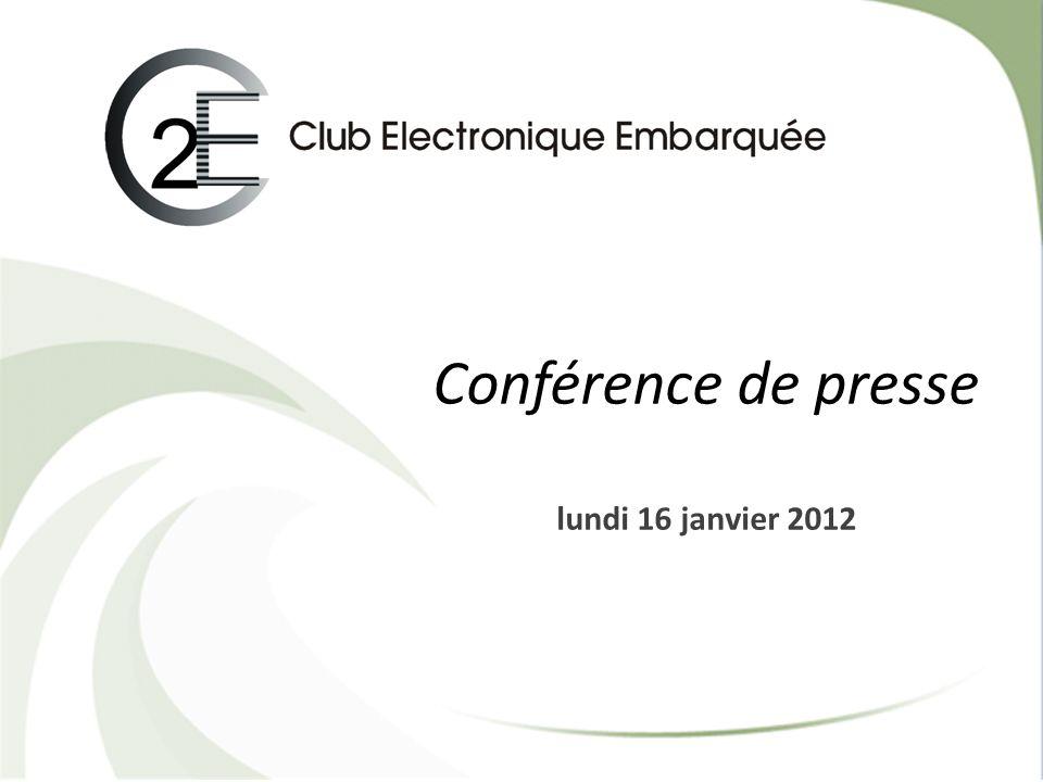 1 Conférence de presse lundi 16 janvier 2012