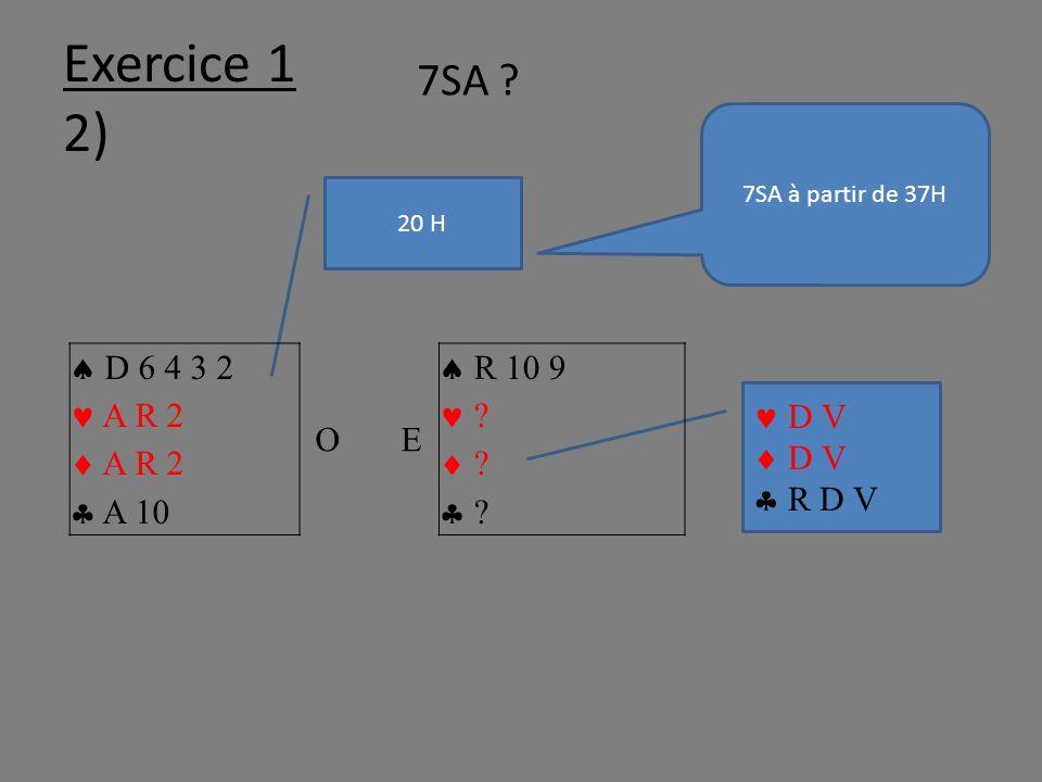 Exercice 1 2) 20 H D V D V R D V D 6 4 3 2 A R 2 A R 2 A 10 O E R 10 9 .